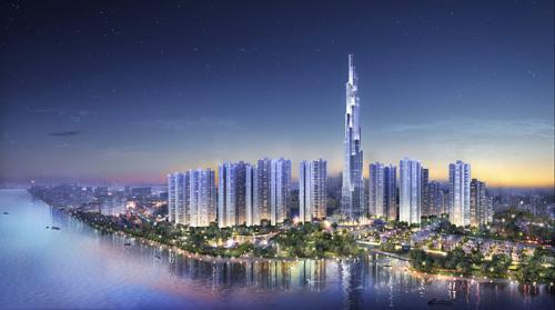 Ra mắt tòa tháp cao nhất Việt Nam