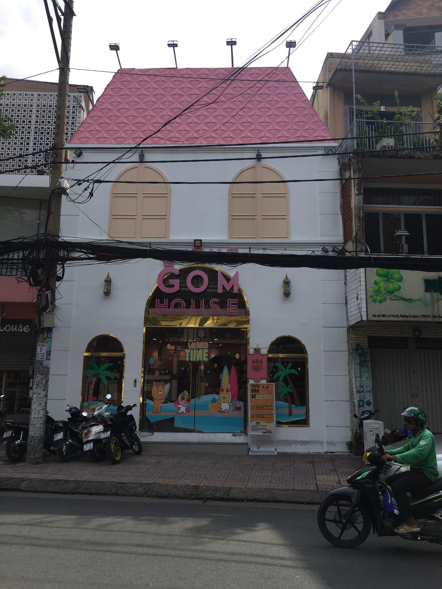 Cho thuê nhà 484 Lê Văn Sỹ,Phường 14,Quận 3